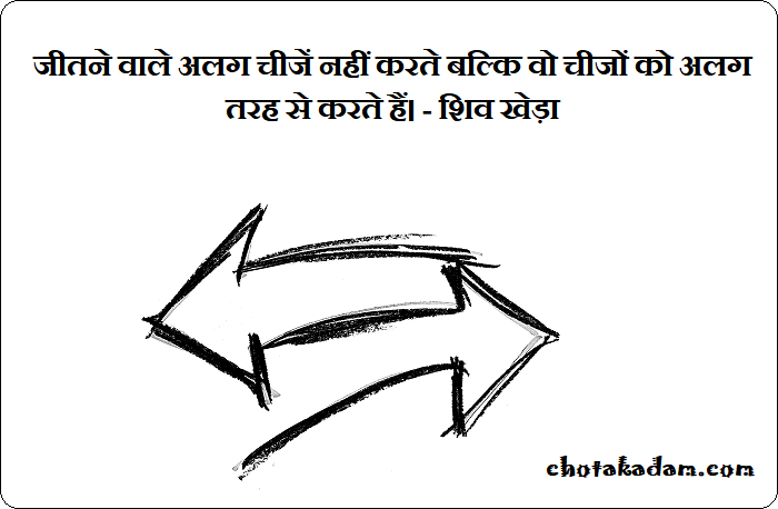 Motivational Quotes in Hindi by Shiv Khera